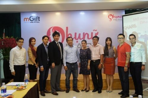 Ra mắt trang thương mại điện tửPhunumart.vn