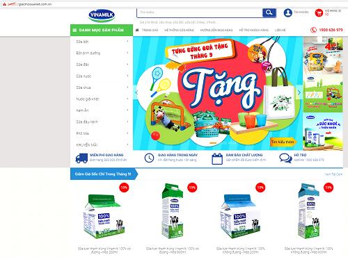 Vinamilk ra mắt website thương mại điện tử 'Giấc mơ sữaViệt'